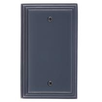 Brass Accents M02-S25X0-613VB Classic Steps Single Blank Plate