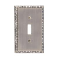 Brass Accents M05-S7500-609 Egg & Dart Single Switch Plate