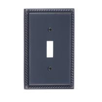 Brass Accents M06-S8500-613VB Georgian Single Switch Plate