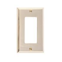 Brass Accents M07-S4520-605 Quaker Single GFCI Switch Plate