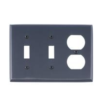 Brass Accents M07-S4580-613VB Quaker Triple-Double Switch and Single Outlet