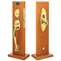 Emtek Salem Mortise Handleset with Egg Knob Polished Brass (US3)