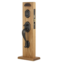 Emtek Denver Mortise Handleset Medium Bronze Patina (MB)