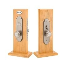 Emtek Charleston Mortise Entrance Lockset with Norwich Knob 3543,3143