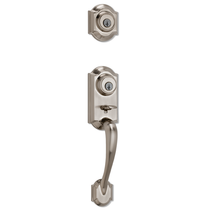 Kwikset Signature Series Montara Handleset shown in Satin Nickel (15)
