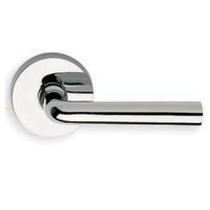 Omnia 368 Lever Latchset Polished Chrome (US26)