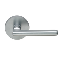 Omnia 943 Lever Latchset Satin Nickel (US15)