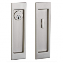 Baldwin Estate PD005.150.ENTR Santa Monica Keyed Entry Sliding Pocket Door Set