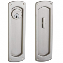 Baldwin Estate PD007.150.ENTR Palo Alto Keyed Entry Sliding Pocket Door Set