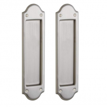 Baldwin Estate PD016.150.PASS Boulder Passage Sliding Pocket Door Set