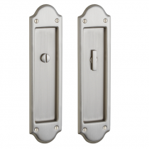 Baldwin Estate PD016.150.PRIV Boulder Privacy Sliding Pocket Door Set with Pull