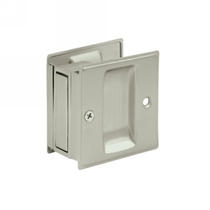 Deltana SDP25 Passage Pocket Door Lock shown in Satin Nickel (15)