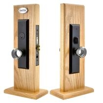 Emtek Harrison Mortise Entrance Lock with Providence Crystal Oil Rubbed Bronze