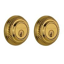 Nostalgic Warehouse ROPDBL Rope Double Cylinder Deadbolt