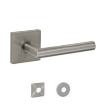 Fusion Hardware Contemporary Stainless Steel 2060 Lever with Square rose