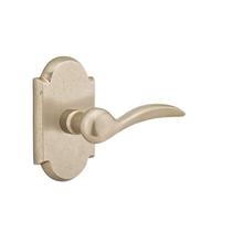 Emtek Durango Door lever with #1 Rose Tumbled White Bronze (TWB)