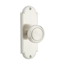 "Emtek 8006 Delaware 7-1/8"" Non Keyed Sideplate with Norwich Knob"
