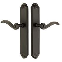 Emtek Tuscany Bronze Style Stretto Narrow Trim Non Keyed Sideplate