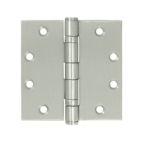 "Deltana SS45 4.5"" x 4.5"" Ball Bearing Square Corner Stainless Steel Hinges"