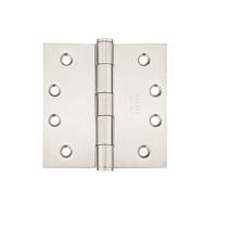 Emtek 4-1/2 x 4-1/2 Stainless Steel Square Corner Heavy Duty Hinges 9821532D