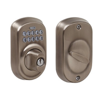 Schlage BE365-PLY Electronic Keypad 620 Antique Nickel