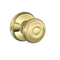 Schlage F10 Geo Passage Lifetime Bright Brass 505