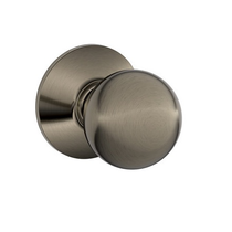 Schlage F10 Orb Passage Antique Pewter 620