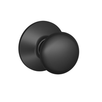 Schlage F10 Ply Passage Matte Black 622