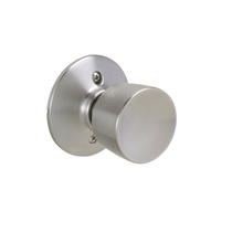 Schlage F170 Bell Dummy Knob 626 Satin Chrome