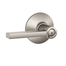 Schlage Latitude F40 Lat Privacy 619 Satin Nickel