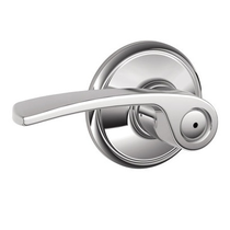 Schlage Merano F40 Mer Privacy 625 Bright Chrome
