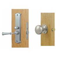 Deltana SDL688 Storm Door Mortise Lock shown in Satin Nickel