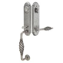 Emtek Wrought steel Monolithic w/Lafayette Grip and Lever 460111, 461111, 462111
