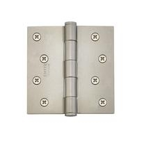 Emtek 91014 4 x 4 Steel residential duty hinge Tumbled White Bronze (TWB)