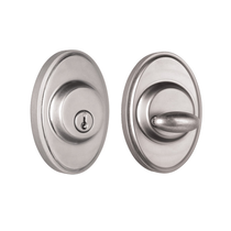 Weslock 2771 Oval Single Cylinder Satin Nickel (15)