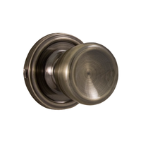 Weslock 600O Passage 5 Antique Brass