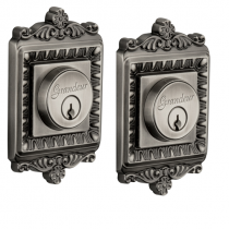 Grandeur Windsor Double Cylinder Deadbolt Antique Pewter (AP)