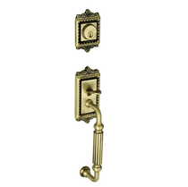 Grandeur Windsor Handleset with F grip in Antique Brass (AB)