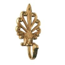 Brass Accents European Robe Hook