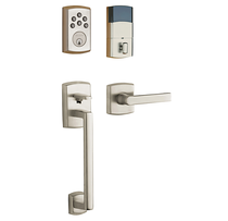 Baldwin Keyless Soho Sectional Handleset with Soho Lever