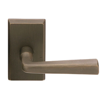 Emtek Cimarron Door lever with #3 rose Medium Bronze (MB)