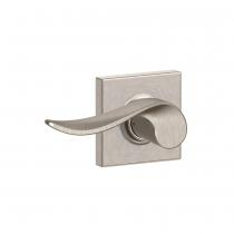 Schlage F10-SAC-COL Sacramento Passage Door Lever Set with Collins Rose