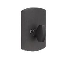 Emtek 8574 #4 Style Single Sided Deadbolt Flat Black Patina (FB)