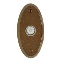 Rocky Mountain Oval Door Bell Button