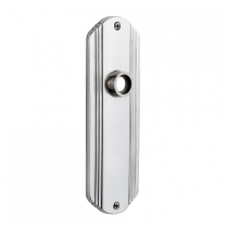 Nostalgic Warehouse Deco Plate Without Keyhole Privacy Function Bright Chrome