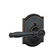 Schlage F170BIR716CAM Birmingham Single Dummy Door Lever Set with Camelot Rose