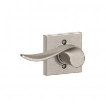 Schlage F170-SAC-COL Sacramento Single Dummy Door Lever with Collins Rose