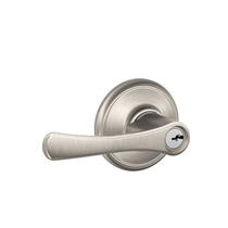 Schlage F51-VLA Avila Keyed Entry Door Lever Set