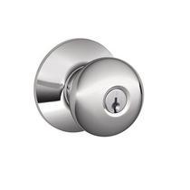 Schlage F80 Ply Storeroom Bright Chrome 625