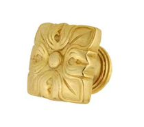 Emenee FAB1004-MG Imperial Pelican Egg Stand Cabinet Knob in Museum Gold (MG)
